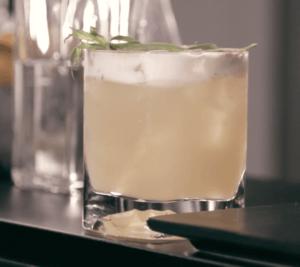 Tarragon Whisky Sour
